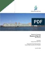 Hudson River Park Trust Pier 57 RFP 2008