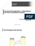 Securing J2EE Services