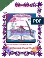 Articulo s Grama Tica Les