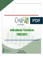 Ceará Indicadores Turísticos 2009 2012 Edição 2013