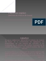 Diseño de Mezcla Metodo Modulo de Fineza