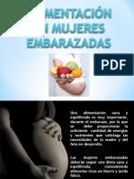 Alimentacion en Mujeres Embarazadas