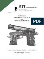 Firearms - ! - Manual - STI 1911 Pistol