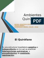 Ambiente Quirurgicos UPSJB 2015