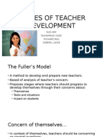 Stages of Teacher Development (1)