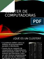 Clúster de Computadoras