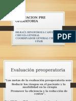 Evaluacion Pre Operatoria Upsjb 2015