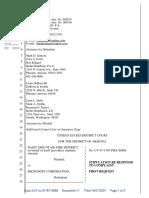 Daisy Mountain Fire District v. Microsoft Corporation - Document No. 11