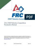 2012 FIRST Robotics Competition Pneumatics Manual