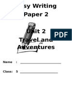 Unit 2 - Travel and Adventures