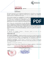RESOLUCIÓN MINISTERIAL Nº 507/15 DE 31 DE JULIO DE 2015