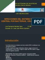 Infecciones Del Sistema Nervioso Central Por Bacterias,