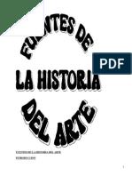 Fuentes de la historia del arte
