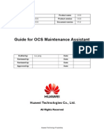 Guide for OCS Maintenance Assistant