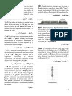 Ejercicios Propuestos de Dinamica