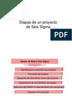 1-Etapa Definir Six Sigma