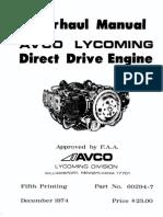 Lycoming Overhaul Manual