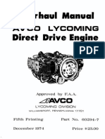 Lycoming Overhaul Manual