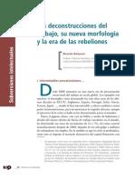Ricardo Antunes - Deconstrucciones Del Trabajo