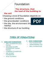 Masonry and Foundations