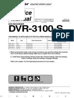 Pioneer Dvr 3100 s