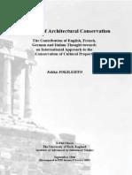 Jukka Joki Lehto 1986 History of Conservation
