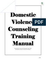 Domestic Violence Training Manual