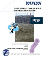 An Engineering Description of Soils Visual-Manual Procedure