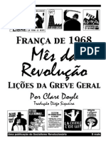 França de 1968- Mês Da Revolução