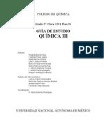 1501 - Quimica III Guía de Estudio ENP