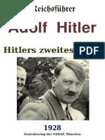 Hitlers Zweites Buch - 1928