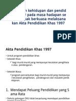 EDU 3093 Kehidupan Dan Pendidikan OKU Pada Masa Hadapan
