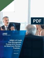 Survey Credit Risk Retail Loan Review 2014