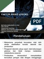 Presentasi Faktor Risiko Stroke