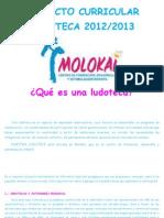 Proyecto Curricular Ludoteca 2012 Word