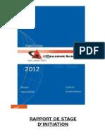 ONCF RAPPORT DE STAGE
