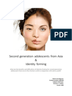 Second Generation Asians and Their Identity