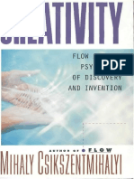 Mihaly Csikszentmihalyi Creativity Flow and the Psychology of Discovery and Invention 1997