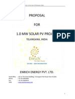 1. Proposal for 1 MW Solar Power Plant- Telangana.pdf