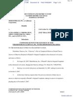 Mediostream, Inc. v. Acer America Corporation et al - Document No. 18