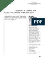 konsensus sindrom metabolik