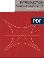 Introduction to Special Relativity-Resnick