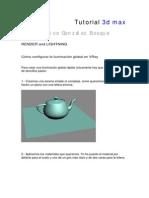 Tutorial Render 3Dmax (Muy Bueno Vray)