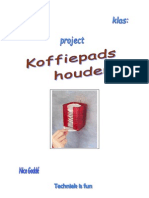 project koffiepads houder