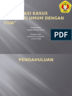 Presentasi Kasus Total Intravena Anestesi