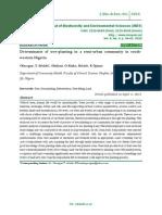 Determinants of tree-planting in a semi-urban community in southwestern Nigeria