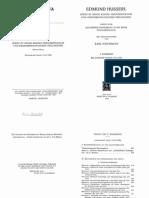 Ideen Zu Einer Reinen Phänomenologie Und Phänomenologische Philosophie I 2