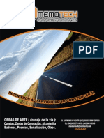 (Obras Ornamamentales)Brochure Memotech Sac