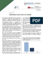 DATI I Migranti Visti Dai Cittadini - 11_lug_2012 - Testo Integrale