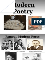 modern poetry maginism power point